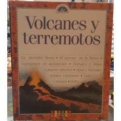 Biblioteca del estudiante: Volcanes y terremotos.