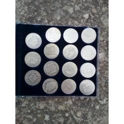Colección 15 pesetas en plata de ley